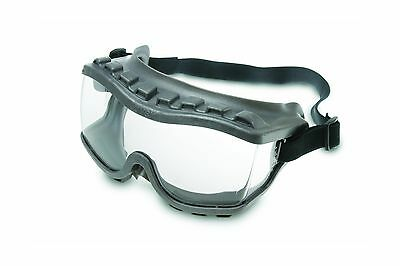 Uvex S3815 Strategy Safety Goggles Gray Body Clear Uvextra Anti-Fog Lens ... New