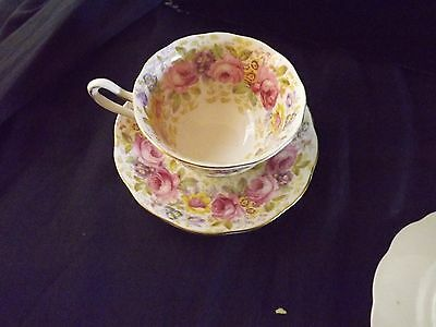 cup saucer and plate trio