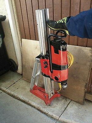 "Hilti DD 200 Diamond Core Drill Coring System W/ DD-BL to 1-1/4""UNC  Adapter"