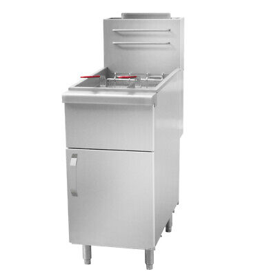 [GFK481-16] Gas Fritteuse 16 Liter /  27 kW