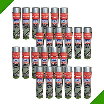 24x 600ml Power Bremsenreiniger Bremsenspray Entfetter Spray Spraydose € 2,97/L