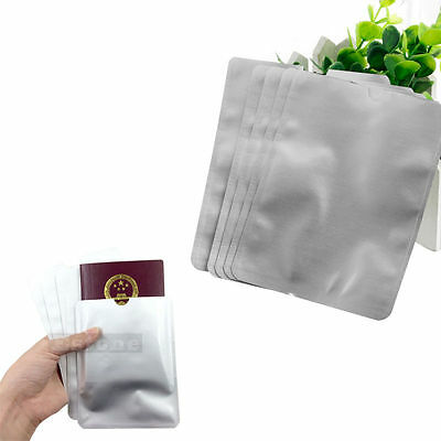 5Pcs/Lot Passport Secure Sleeve Holder Anti Scan RFID Blocking Protector Cover