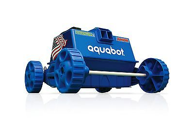 Aquabot APRVJR Pool Rover Junior Robotic Above-Ground Pool Cleaner Blue New