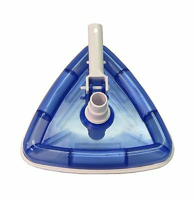 Swimming Pool Deluxe Triangular Weighted Vacuum Head New