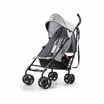 Summer Infant 32303 3D Lite Stroller Grey New