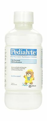 Pedialyte RTF Unflavored Electrolyte 1L Bottle New