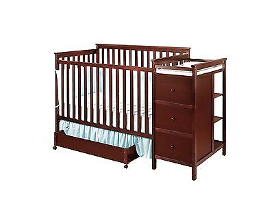 Shermag Florence Convertible Crib N Changer Combo Cherry New