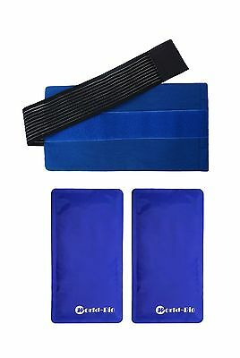 WORLD-BIO Gel Ice Pack Gives Flexible and Soft in Cold Heat Therapy for P... New