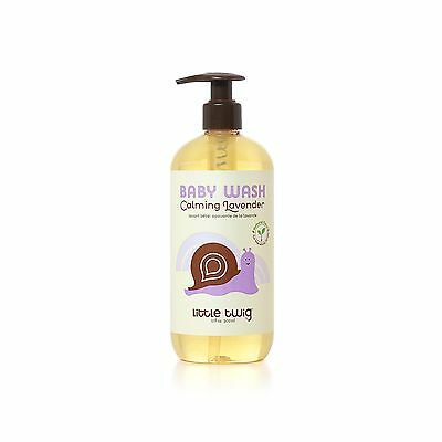 Little Twig Baby Wash Lavender 17 Ounce New