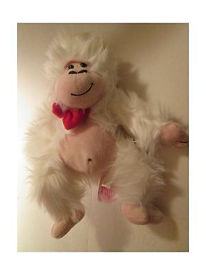 Gordon Monkey (White) 13 Inches Tall. New