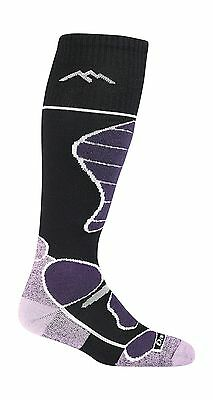 Darn Tough Women's Function 5 Over-the-Calf Padded Cushion Skiing Socks B... New