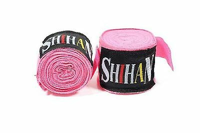 Boxing Hand Wraps 1 Pair - PINK New