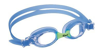 Cressi DOLPHIN Kids Swimming Goggle with Easy Adjustable Buckles - Cressi... New