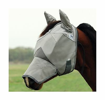 Cashel Crusader Long Nose Horse Fly Mask with ears [Misc.] LONG NOSE EARS New
