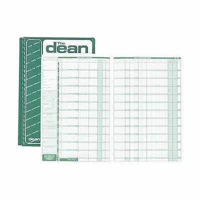 """Dean Et Fils DEA80050 Payroll Book For Use With 50 Employees 13 3/4"""" x 9""""... New"""