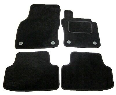 Seat Leon MK3 Carpet Car Mats 2013 onwards Tailored Black 4pc Floor Mat Set