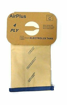 Generic Vacuum Bags for Electrolux Canister - Style C - Generic (Bag of 12) New