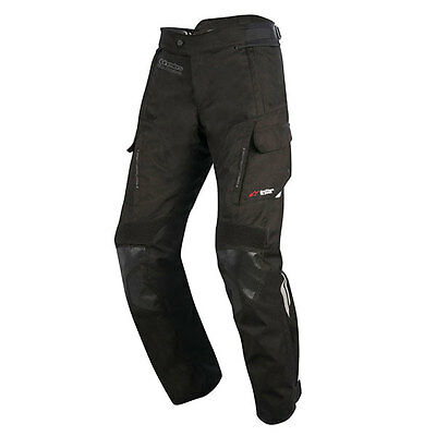 Alpinestars Andes Drystar V2 Black Moto Motorcycle Short Leg Trouser | All Sizes