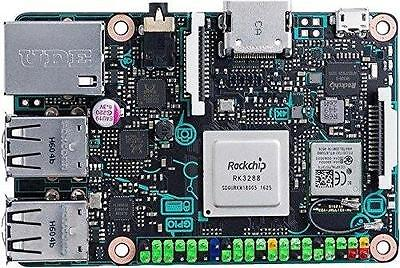 Asus Carte Mère Tinker Board/2Gb, Noir 90Mb0Qy1-M0Eay0