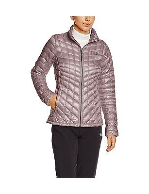 The North Face Women's Thermo Ball Full Zip Jacket Quail Grey X-Small -