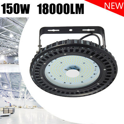 150W UFO LED High Bay Light Warehouse Industrial Factory Commercial Shed Lamp