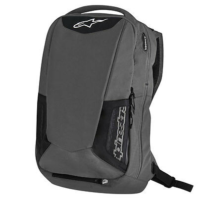 Alpinestars City Hunter Black / Grey Motorcycle Motorbike Backpack / Rucksack