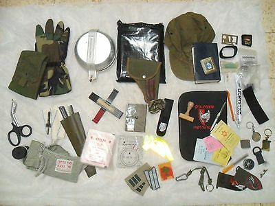 Huge Lot Israeli Army Idf Zahal Field Warriors Items Bulk From Ephods Vests Bags