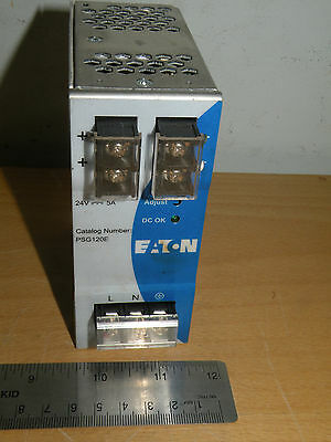 PSG120E-A1 Eaton Cutler Hammer Power Supply24V  5A