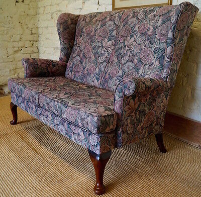 Vintage PARKER KNOLL 2 Seater Settee inc. Reupholstery (exc. fabric)