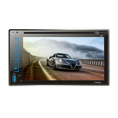"""6.2"""" Touch Screen Autoradio 2 DIN Bluetooth Stereo DVD Player MP3/FM/USB/SD/AUX"""
