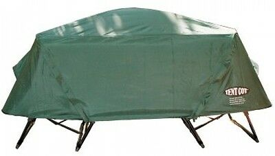Kamp-Rite Tent Cot Oversized Rainfly Camping Shelter Outdoor Hiking Gear Green