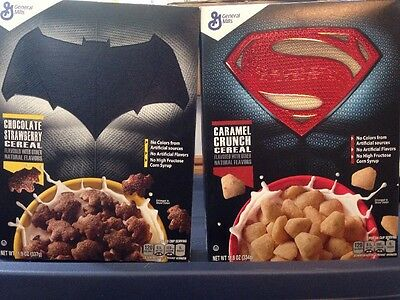 Batman V Superman General Mills Whole Grain Cereal In Box