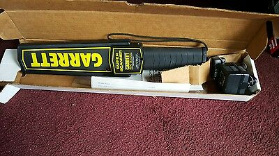 Super Scanner Garrett Metal Detector V Security Wand Hand Held Handheld New