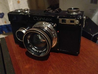 Rare contax ikon contax i version 7 with zeiss Jena Sonnar 5cm f2