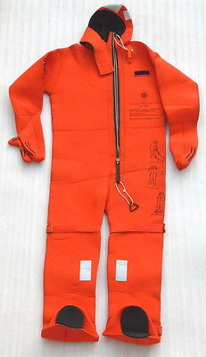 2011 NOS VIKING MARINE INSULATED SURVIVAL IMMERSION SUIT WATERSPORTS DIVING