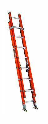 Louisville Ladder FE3216 16-Foot Fiberglass Extension Ladder 300-Pound Ca... New