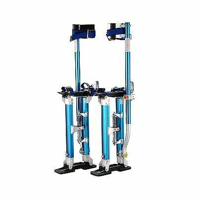 "Pentagon Tools 18"" - 30"" Blue Drywall Stilts New"