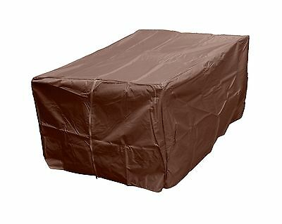 AZ Patio Heaters Fire Pit Cover in Mocha Rectangle New