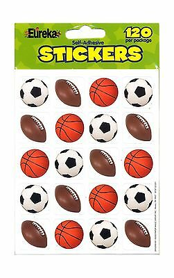 Paper Magic 655209 Eureka Mixed Sports Stickers New