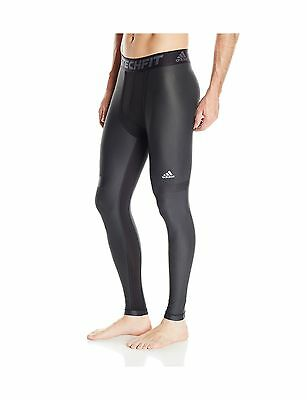adidas Men's Techfit Chill Long Tight Black XXL/TTG 2XTG New