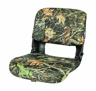 TEMPRESS All Weather High Back Seat Black Seat/Mossy Oak Break up Cushion... New