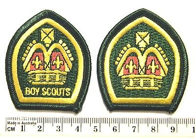 KING'S & QUEEN'S SCOUT BADGES official WOSM replicas World Heritage Collection