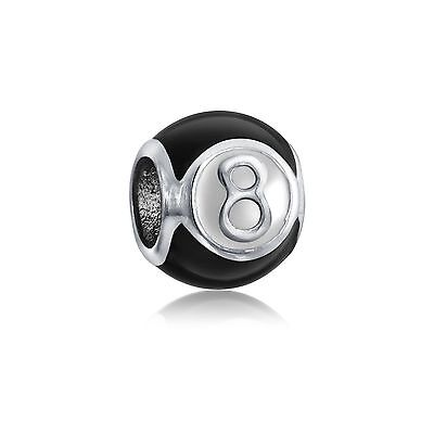 Bling Jewelry Magic Eight Ball 925 Silver Inspirational Bead Pandora Comp... New