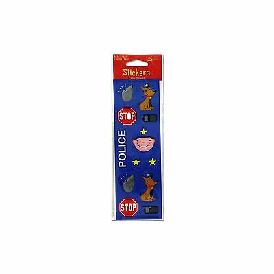 Kole Imports KH417 Rescue Pals Fun Stickers New
