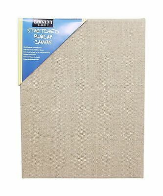 "Sargent Art 90-2027 Stretched Burlap Canvas 11 x 14"" New"