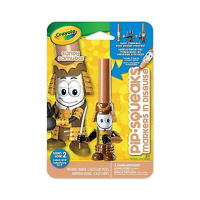Crayola Pip-Squeaks Markers In Disguise - Series 2 - Sandy Samurai New