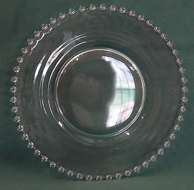 "Imperial Glass CANDLEWICK Salad Plate (7-1/4"") BEST! Multiple Available"