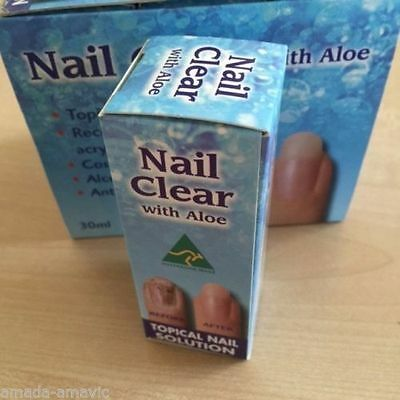 Fungal Nail Clear Treatment Blackened Discoloured Toe Nail Fungus Infection