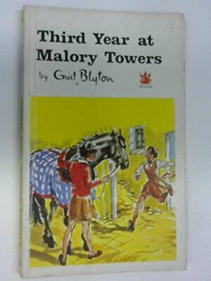 Third Year at Malory Towers (The Dragon Books) by Blyton, Enid Paperback Book