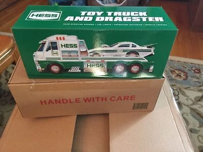 SOLD OUT 2016 Hess Toy Truck & Dragster Brand New in Sealed Box + Batteries